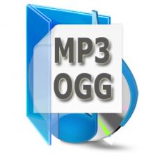 MP3 OGG Converter, convert OGG to MP3, MP3 to OGG