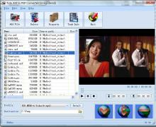 Click to view Tutu AVI to PSP Converter 3.1.9.1224 screenshot