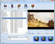 Screenshot of Tutu FLV to MP3 Converter