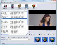 Screenshot of Tutu FLV to X Converter