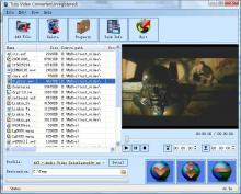 It can convert video file between almost popular video formats rapidly.