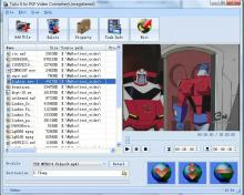 Click to view Tutu X to PSP Video Converter 3.1.9.1203 screenshot
