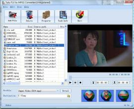 FLV to MPEG Converter, Convert FLV to MPEG, FLV Converter to MPEG Video